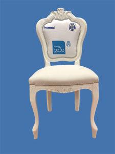 Sedie calcio TENERIFE-azzurro