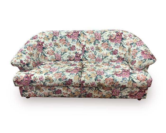 divano a fiori prima
