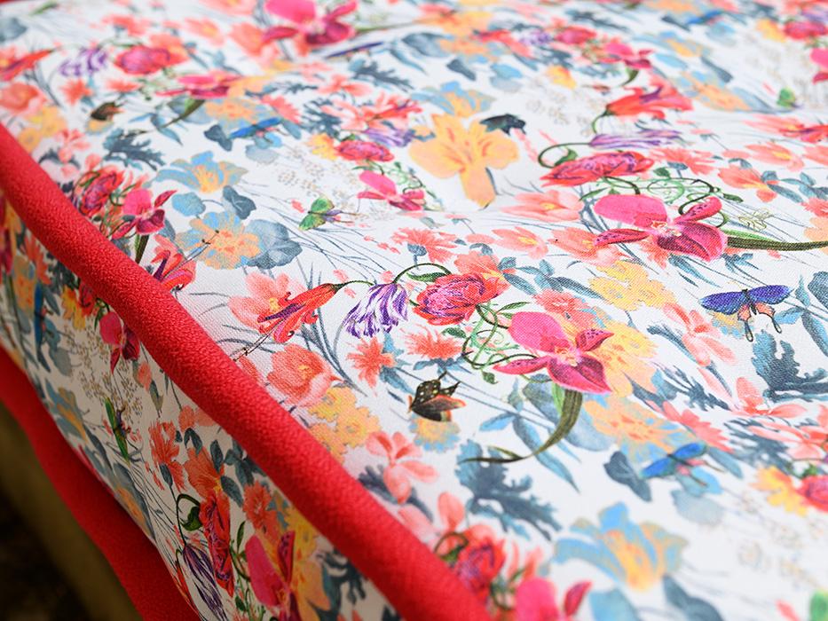 materasso colorato fiori