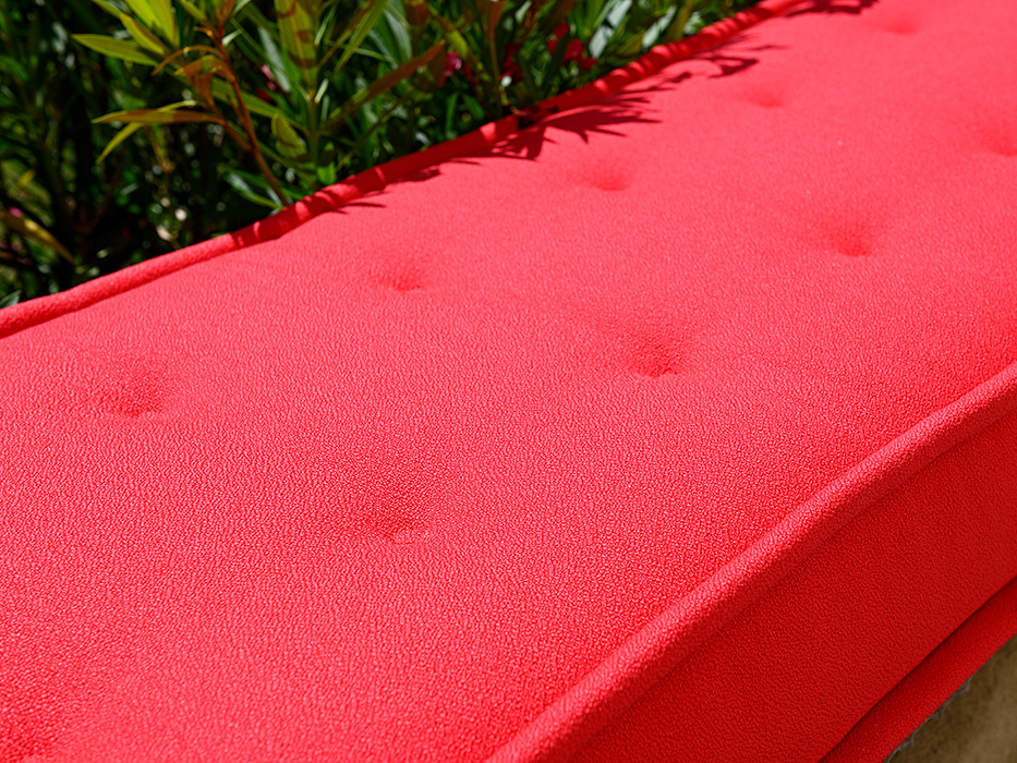materasso rosso
